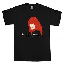 Nowa florencja i maszyna T Shirt wszystkie rozmiary kolory florencja Welch Rock ikona Cartoon t shirt mężczyźni Unisex nowa modna koszulka