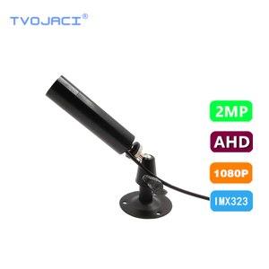 "Mini Bullet AHD TVI CVI Security Camera UTC Coaxial control HD 1080P 2MP 1/2.9""SONY IMX 323 Video Surveillance CCTV Camera 3IN1"