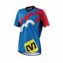 Nowa profesjonalna koszulka rowerowa koszulka kolarska Motocross Jersey rower górski dzika jazda oddychająca niestandardowa bluza jeździecka
