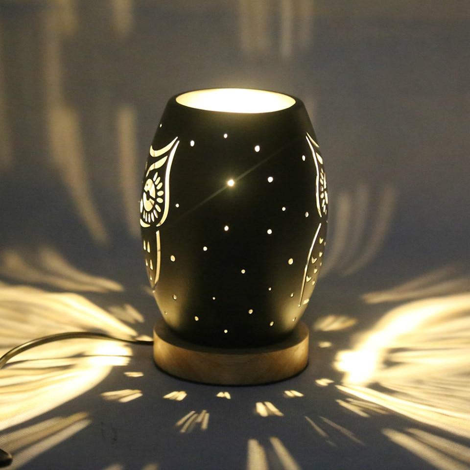Lámpara de mesa OYGROUP, Mini lámpara de escritorio de búho con E14, decoración del hogar, Bar, sala de estar, regalo de chico junto a la iluminación