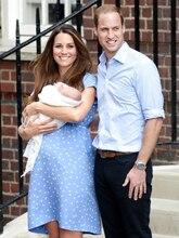 Pregnant Dress Kate Middleton Polka Dot Print Pregnant Dress Loosen Comfortable Dresses W049