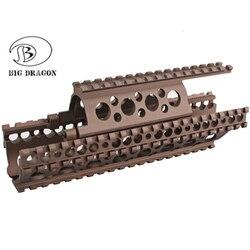 Ak tático 47 handguard ferroviário m83 estilo caça airsoft rifle de alumínio gel bola jinming airsoft militar brinquedo acessórios