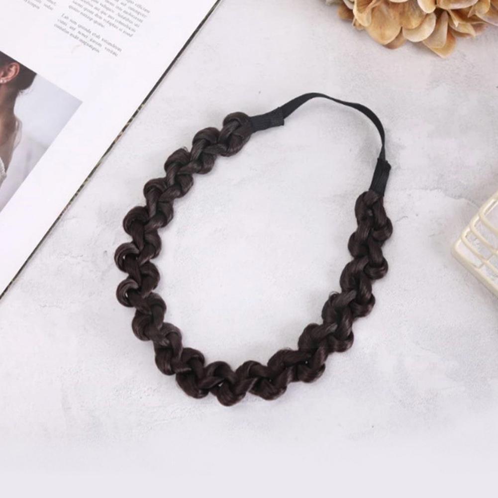 Women Fashion Non-slip Hairband Headbands Twist Hairbands Braid Head Headwear Accessories Band Hair