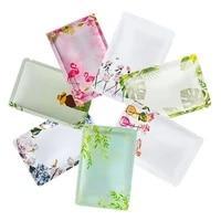 wholesale general use 100pcs open top foil bags facial mask jewelry nail gel polish powder panties heat sealing packaging bags