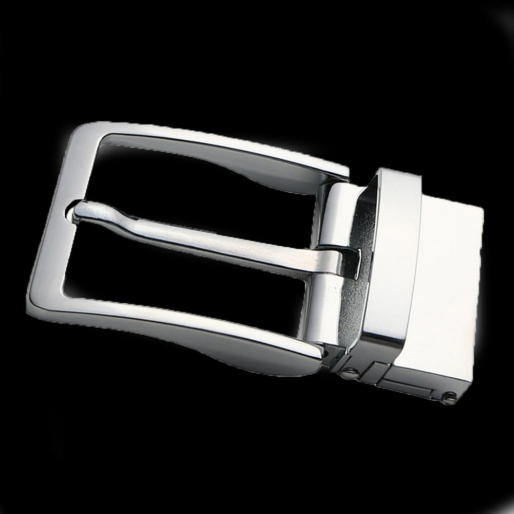 Alloy Rotatable Belt Buckle Single Prong Square Leather Belt Buckle for Men 4cm Belt  DIY Leather Craft Jeans Accessories fashionable rhombic pattern buckle faux leather belt for men