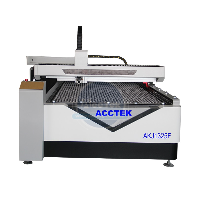 Alta Precisión raycus láser de fibra de 500 W máquina de corte láser de metal AKJ1325F