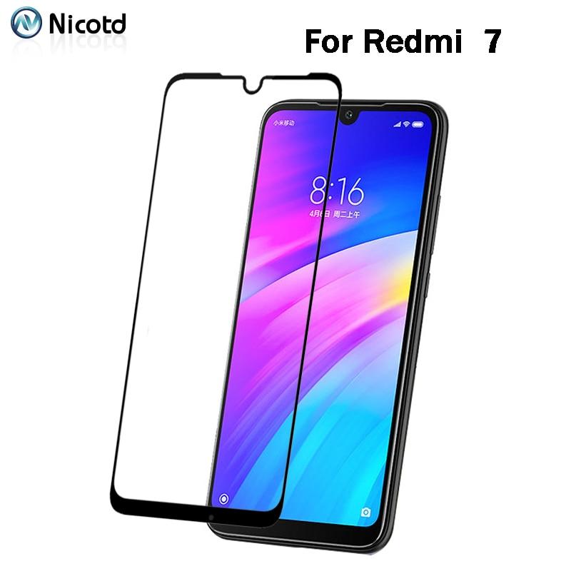2 Pcs Tempered Glass For Xiaomi Redmi 7 7A 6A 4X 4A 5A 5 Plus Screen Protector For Redmi Note 7 6A GO 5A 5 Pro Full Cover Film