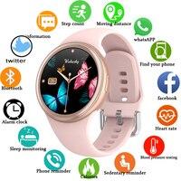 Новинка 2021 г., женские умные часы, 3d-браслет с функцией измерения сердечного ритма, фитнес-часы для женщин и мужчин, Android IOS