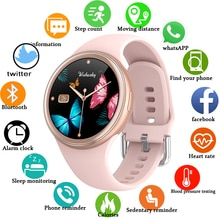 2021 nuove donne smartwatch 3D full touch screen Smart Watch tracker attività frequenza cardiaca Fitness watch per donna uomo Android IOS