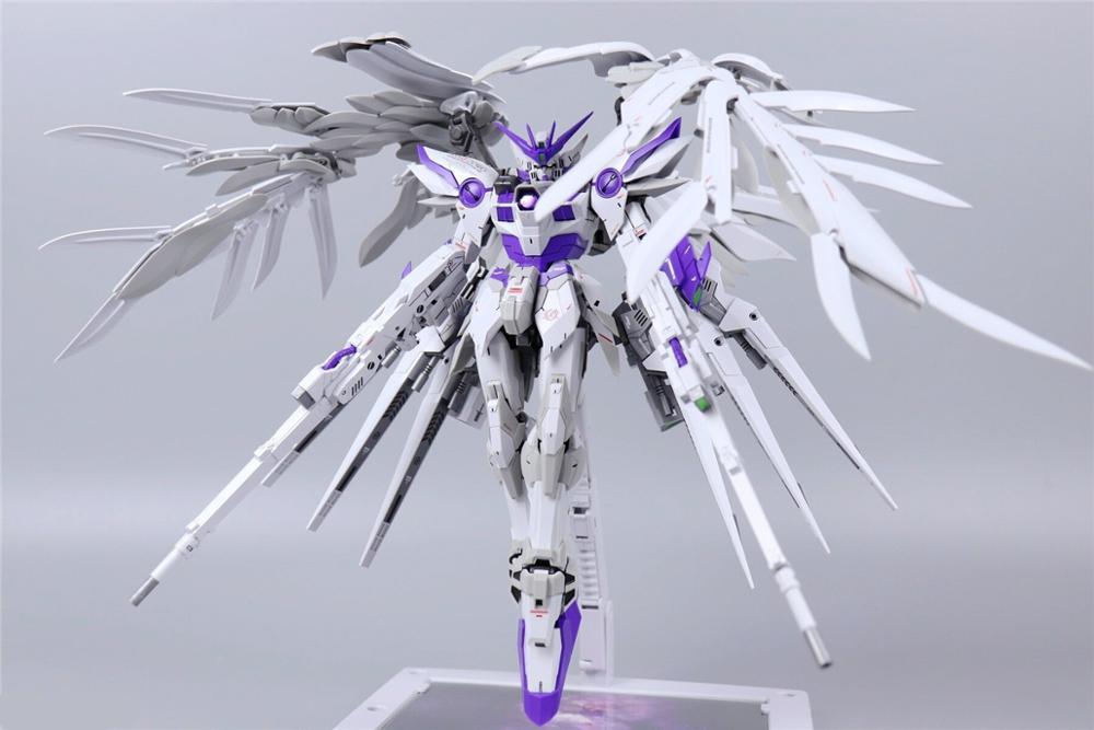 MX modèle (Super Nova ) 1/100 MG style fixe XXXG-00W0 aile Gundam zéro violet DM039 *