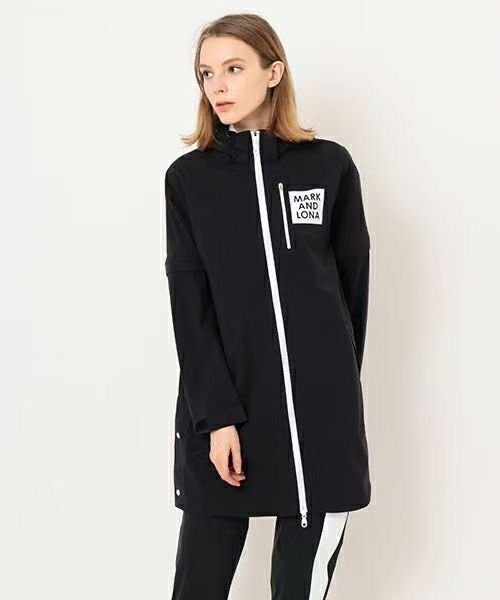 Women's Fashion Jacket Golf Long Jacket Ultra Thin Sunscreen Windbreaker Two Ways To Wear Detachable Sleeves