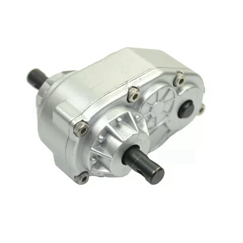 Scx10 1/10 Metal Transfer Case for 1:10 RC Car SCX10 RC4WD-S Gelande II D90 Crawler Moving Gearbox Vehicle Parts AccessorY