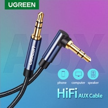 Ugreen Audio Jack 3.5mm Aux Cable Male to Male Aux Cable 3.5mm Jack Audio Cable auxiliar for Car Hea