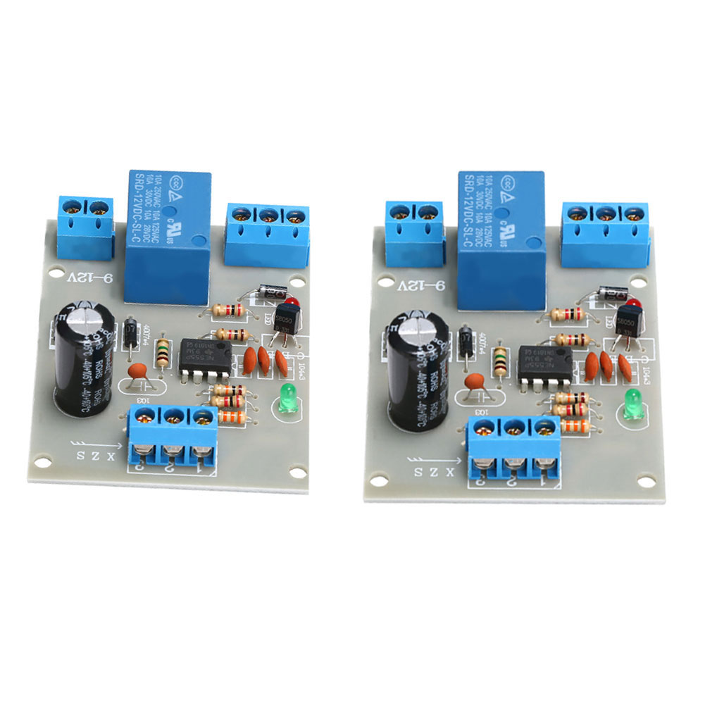 9V-12V Liquid Water Level Controller Sensor Automatic Pumping Drainage Water Level Detection Water Pump Control Circuit Board
