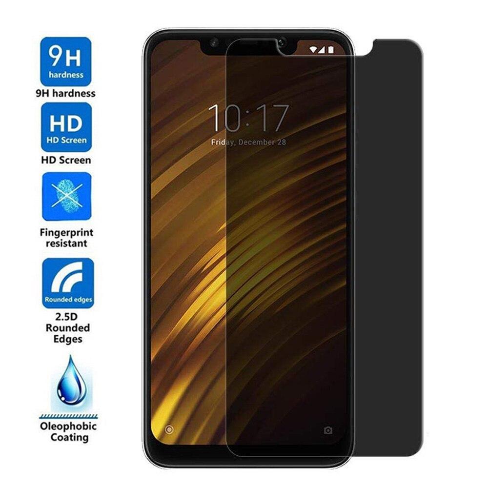 2.5D Pocophone F1 F2 Anti Spy Privacidade Protetor de Tela Para Xiaomi Vidro Temperado Para Pocophone F2 Pro Anti Glare Protective filme