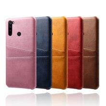 Funda de cuero para Xiaomi Red mi Note 8 7 6 5 Pro Red mi K20 7A 6A tarjetero caso para Xiaomi mi A3 9 SE 9T mi 8 Lite CC9