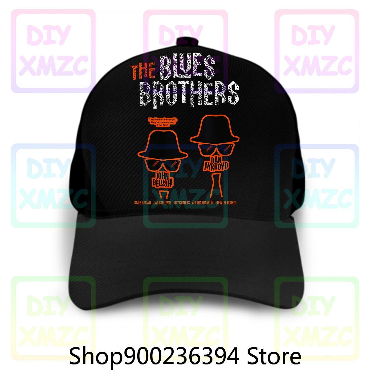 Gorra de béisbol Blues Brothers, gorra de hombre personalizada con música Jazz