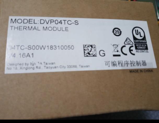 DVP04TC-S PLC 4 canaux K J type Module Thermocouple nouveau Original