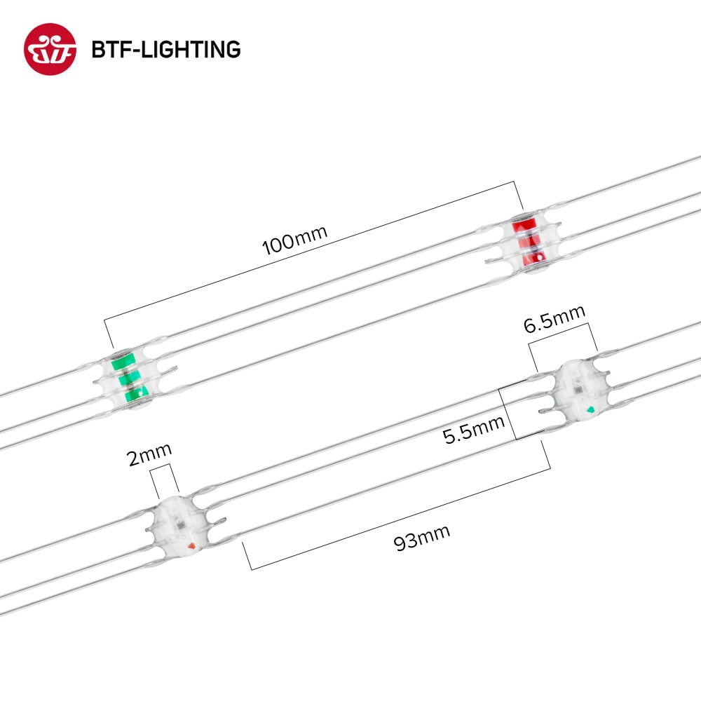WS2812B Pixels RGB LED Module Heatsink Board Nodes 50 LED per String Addressable Individually Power by USB Plug Battery Box DC5V