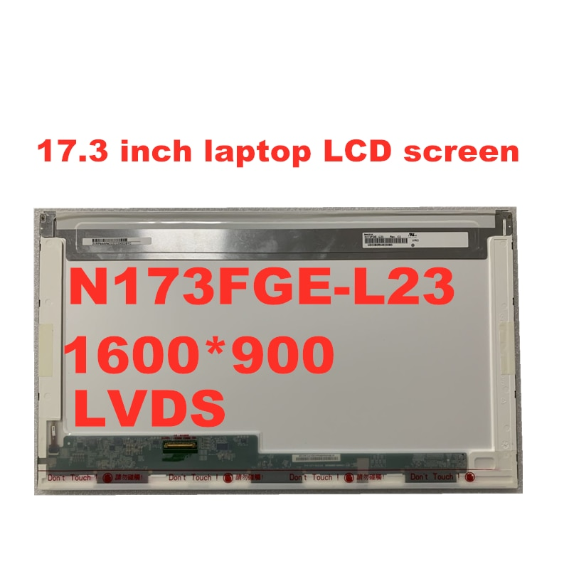 17.3 بوصة N173FGE-L23 LP173WD1 TLA1 B173RW01 V.3 LTN173KT01 LTN173KT02 LP173WD1 TLN2 محمول LCD شاشة لوحة LVDS 40pin