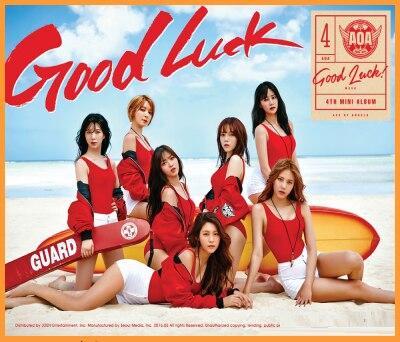 mykpop 100 original oficial aoa mini 4 boa sorte cd livro de fotos colecao de fas kpop sa20110601