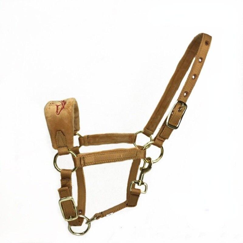 Уздечка для лошадей, принадлежности для конного спорта, удобное Регулируемое Прочное ошейник для лошадей