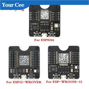 ESP8266 ESP-WROOM-32 ESP32-WROVER Development Board Test Burning Fixture Tool ESP-32 Downloader for ESP-12F ESP-07S ESP-12S