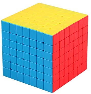 Cubo mágico sin pegatinas CuberSpeed Moyu MoFang JiaoShi Meilong 7x7 MFJS MEILONG 7x7x7