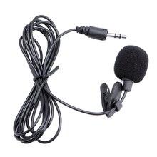 3.5mm klip na Mini mikrofon Lapel Tie bezprzewodowy mikrofon Lavalier do laptopa BK