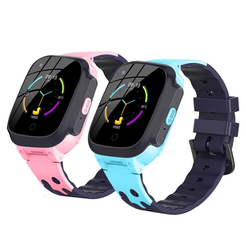 Get S8 4G Kids Smart Watch Waterproof GPS+WIFI+LBS Tracker Phone Watch SOS Video Call for Children Anti Lost Monitor Baby SmartWatch
