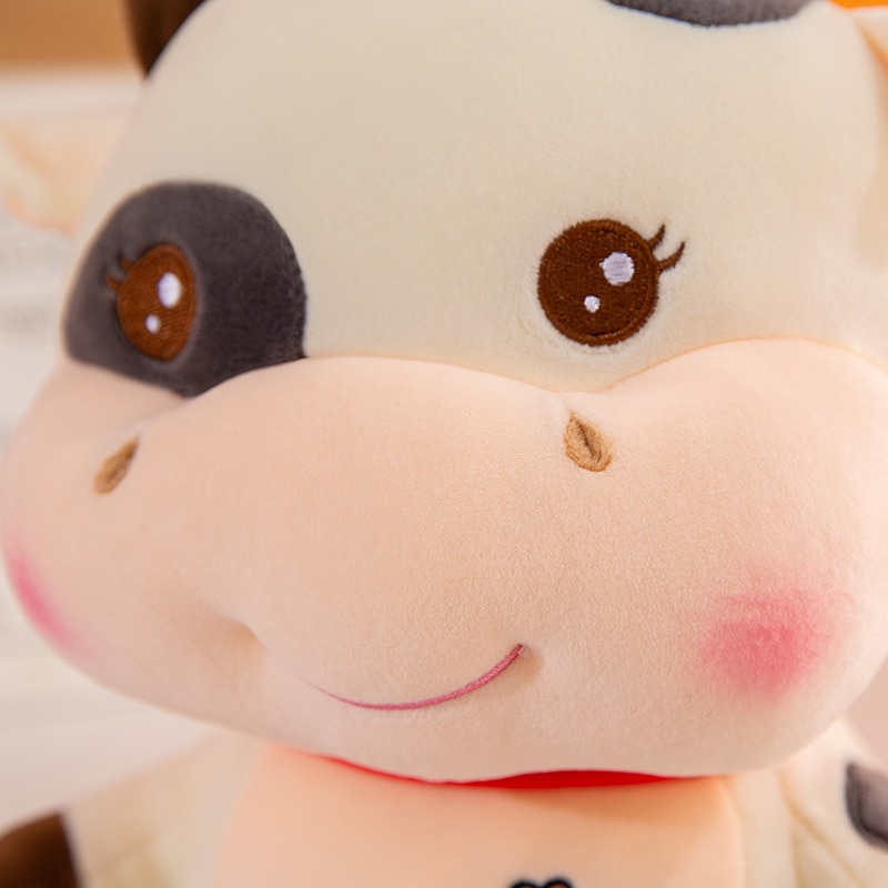 25/35/45cm kawaii Cow Brothers Plush Soft Toys Doll Sleeping Pillows Stuffed Animals Sofa Decor Toys for Children Kids Gift  - buy with discount