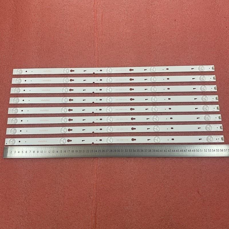 8 قطعة/المجموعة LED الخلفية بار ل TCL 55FS3750LBAA 55FS3750 L55F3303B D55A710 LD55A810L 55S100 L55F3800A