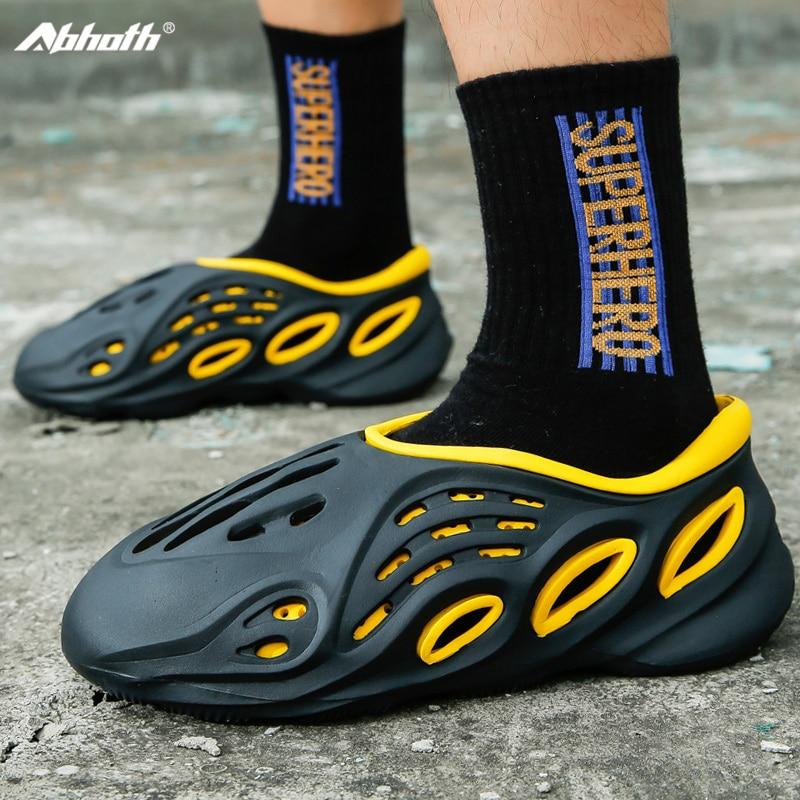 Abhoth-Sandalias De Playa informales Para Hombres Y Mujeres, zapatos con agujeros respirables...