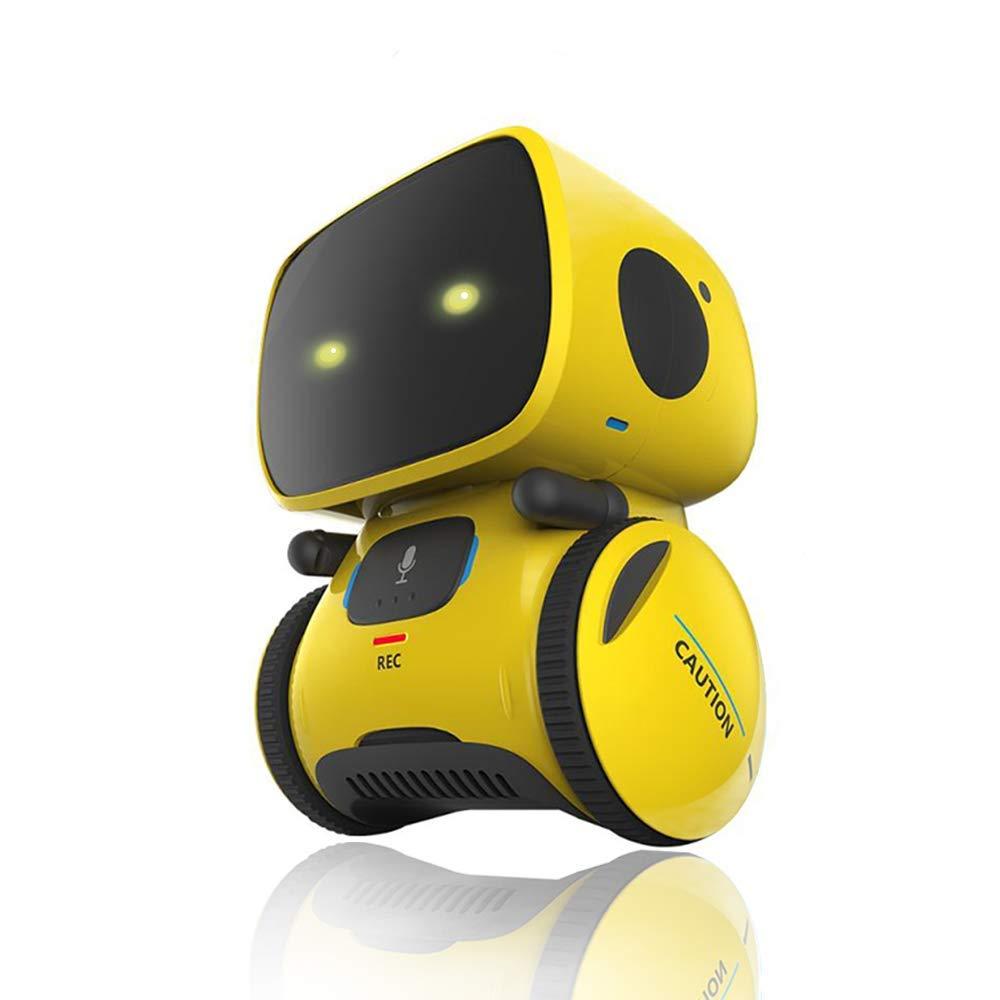 Тип интерактивный робот, милая игрушка, умные роботизированные роботы для детей, танцевальная Голосовая команда, 3 языка, сенсорное управле...