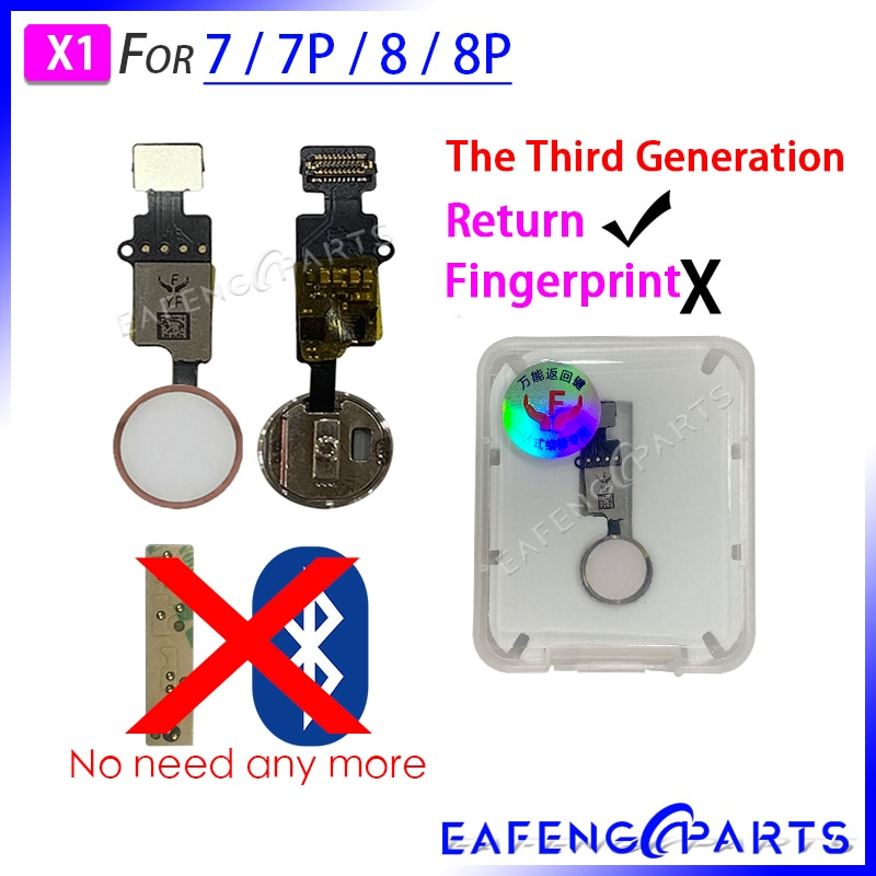 С функцией Retrun для iPhone 7G 7 Plus 8G 8 Plus домашняя кнопка Flex сборка No Touch ID