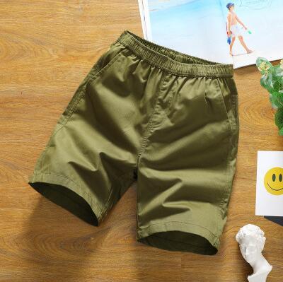 ZNG 2020 new style casual pants slim shorts men's five-minute trousers summer beach pants men's cotton