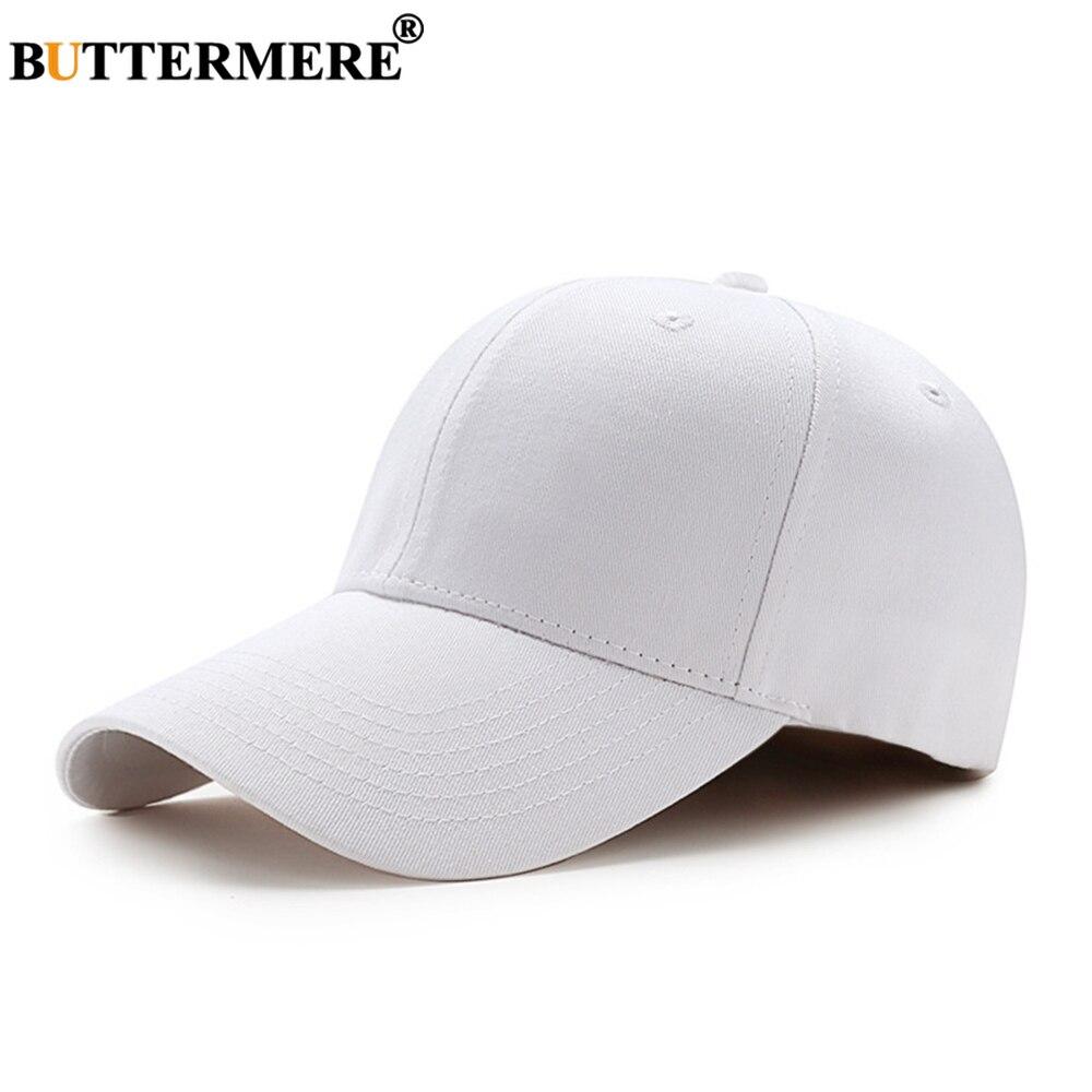 Gorra de béisbol blanca BUTTERMERE, gorra Snapback de algodón liso para hombres y mujeres, gorra de papá con diseño de hueso para hombre, azul marino, Gris, Rosa y Borgoña