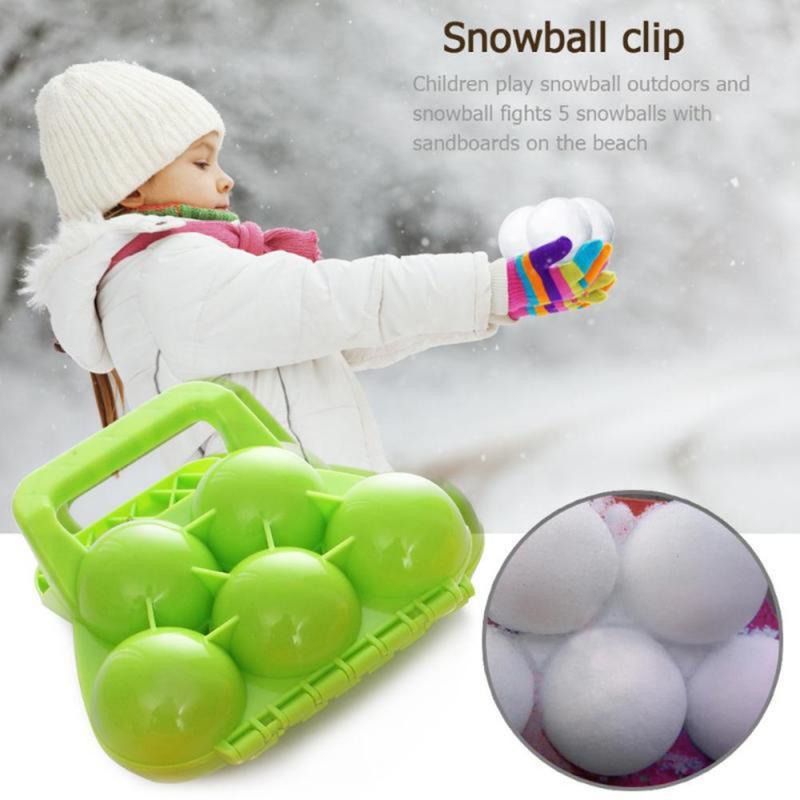 Snowballs Maker Clip Children Outdoor Sports Winter Beach Sand Mold ToolMold Fight Outdoor Sport Too
