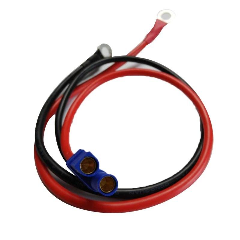 2021 neue EC5 Weibliche Stecker Stecker Kabel mit O Ring Öse Terminal 10AWG Draht 50 CM