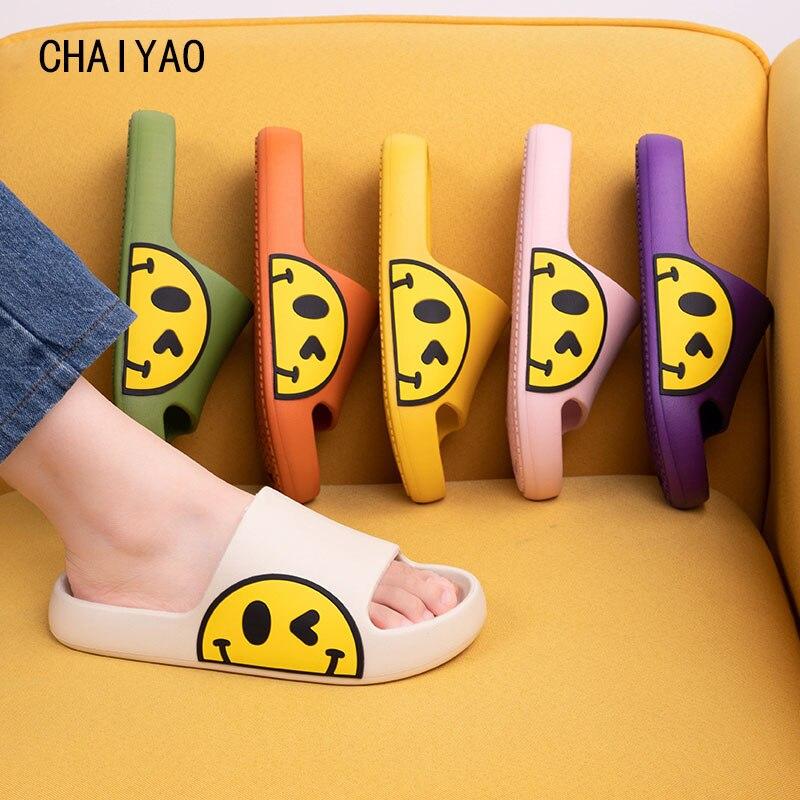 Children Slippers For Boys Girls Rainbow Beach Sandals Summer Shoes For Kids EVA Non-slip Cute Soft