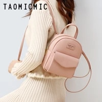 new luxury women backpack vintage travel soft leather backpack large capacity bookbag high quality school bags for teenage girls