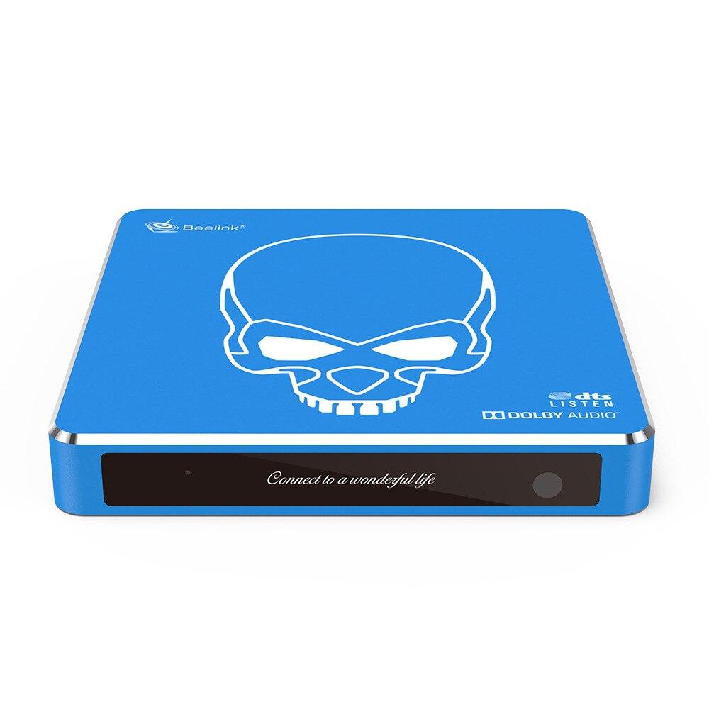 Gt-rei pro 4 k media player android 9.0 caixa de tv inteligente amlogic S922X-H quad core conjunto caixa superior suporte 3d hdmi iptv netflix youtube