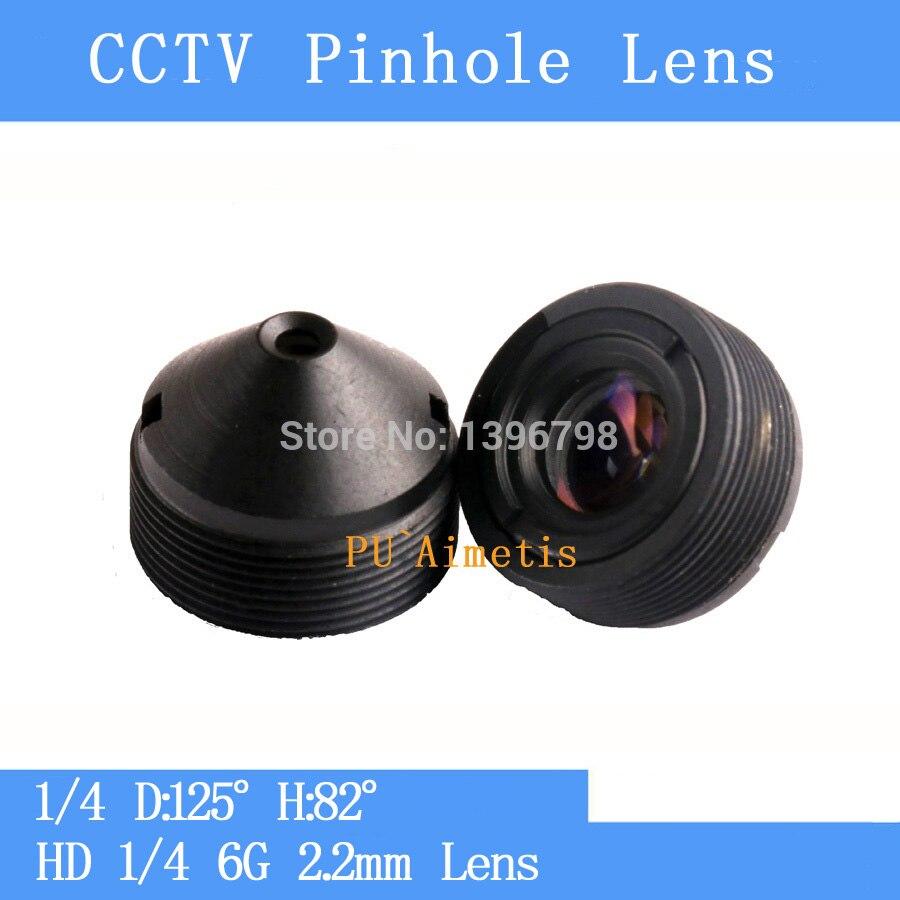 PUAimetis cámara infrarroja de vigilancia HD 3MP CCTV lente 1/4 2,2mm D 125 H 80 M12 rosca CCTV lente