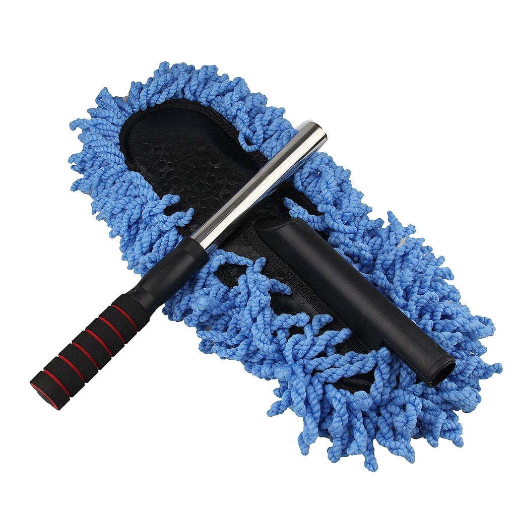 метелка для пыли boomjoy dust mop 68 86 см Multifunctional Car Dust Cloth Cleaning Dirt Dust Cleaning Brush Dust Wiping Tool Mop