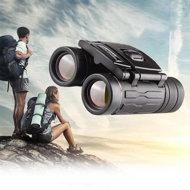 Telescopio con Zoom 60x42, binoculares plegables con visión nocturna de baja luz para ver al aire libre, viajar, cazar y acampar, producto en oferta