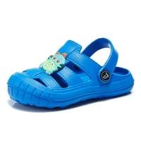 boy children baby clogs kids summer crocks mules garden beach cave candy color hole shoes for boys eur24 25 26 27 28 29 30 31