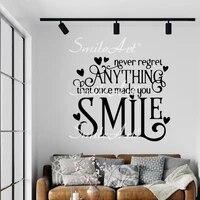 Autocollants muraux impermeables  phrase de beaute  decoration de maison pour chambres denfants  decalcomanies dart en vinyle