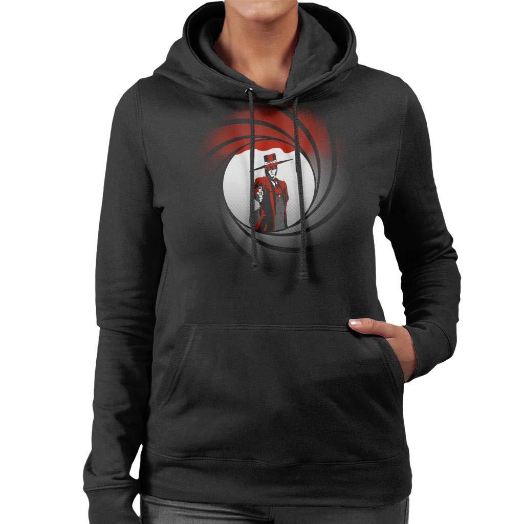 Alucard Hellsing Castlevania Bond Mix Womens Hooded Sweatshirt Men Women Hoodie Sweatshirt
