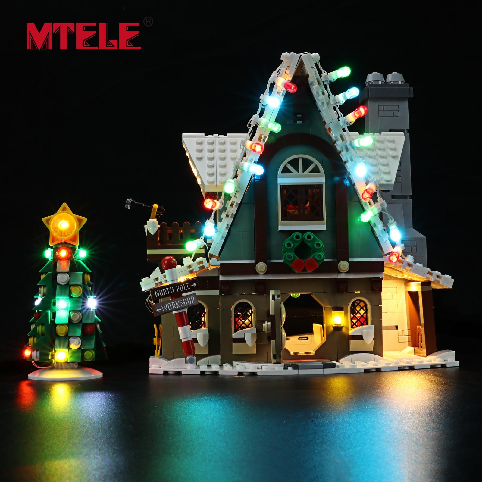 MTELE مجموعة إضاءة LED ل 10275 قزم نادي البيت هدية الكريسماس