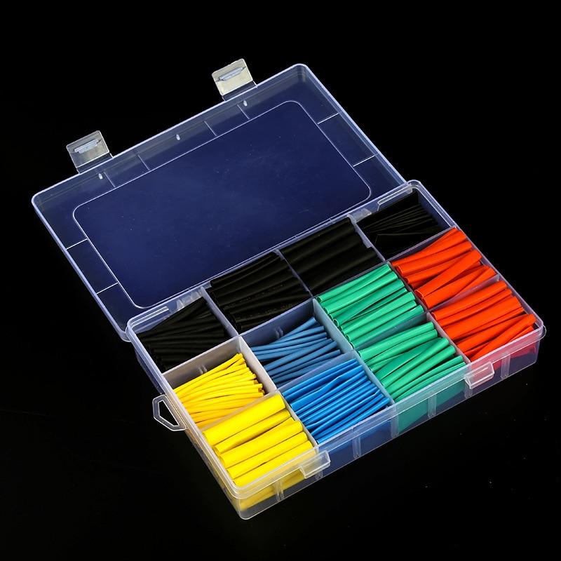 Tubo termorretráctil para cables, tubo termorretráctil retráctil para cables, con caja de...